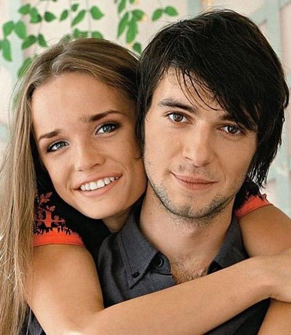 Павел Баршак с женой Евгенией