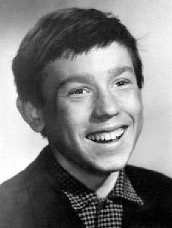 Виктор Сухоруков в школьные годы