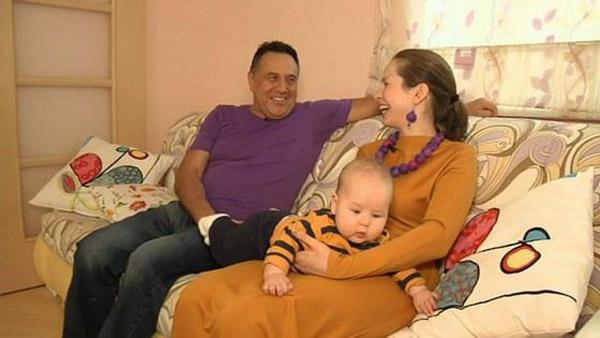 Ренат Ибрагимов с третьей женой Светланой