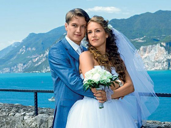 Елена Дудина с мужем, актером Анатолием Руденко