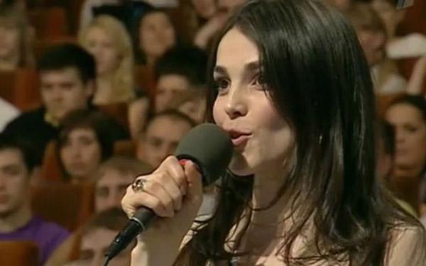 Сати Казанова член жюри в программе КВН