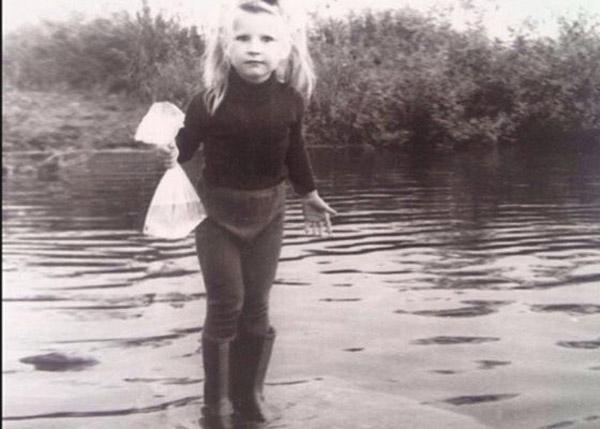 Екатерина Волкова в детстве