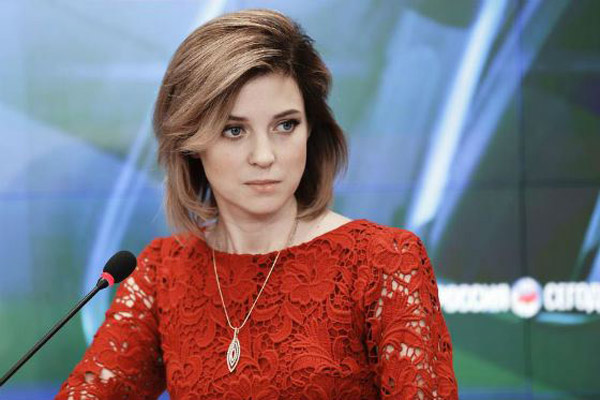 Красивая женщина Полонская Наталья