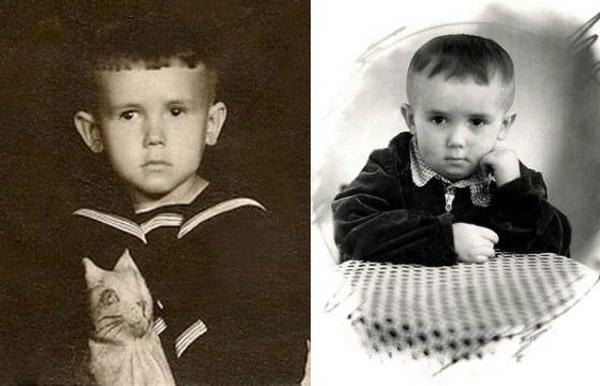 Стас Садальский в детстве