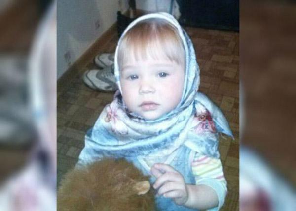 Оксана Акиньшина в детстве