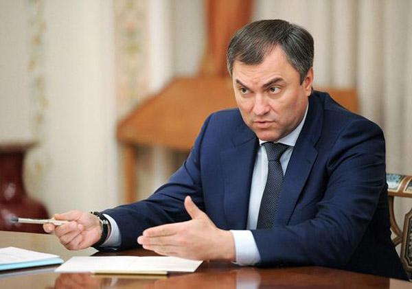 Вячеслав Володин занимается благотворительной деятельностью
