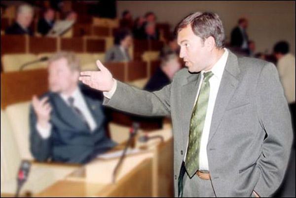 Вячеслав Володин в молодости