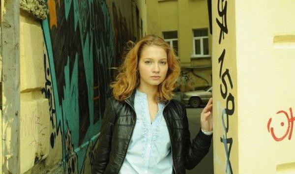 Мария Луговая в молодости