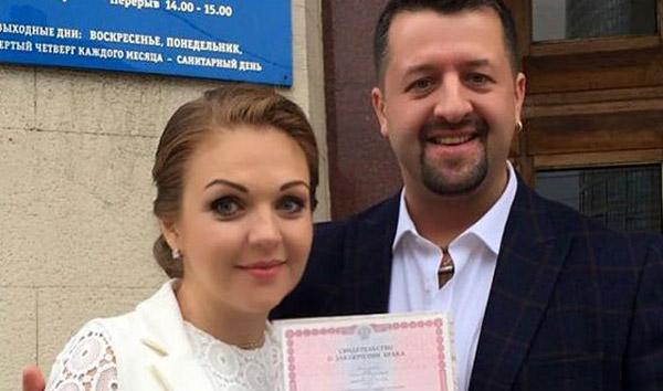 Марина Девятова с мужем Николаем Пигуренко