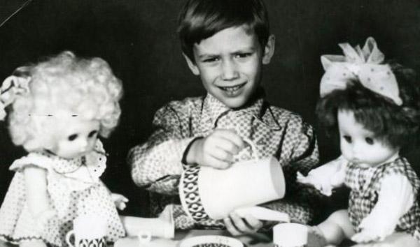 Константин Соловьев в детстве