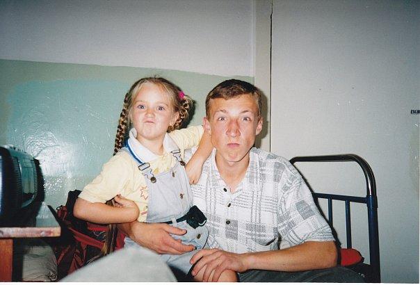 Сергей Гореликов в молодости