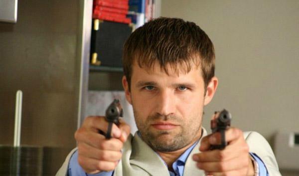 Тимур Ефременков на съемках