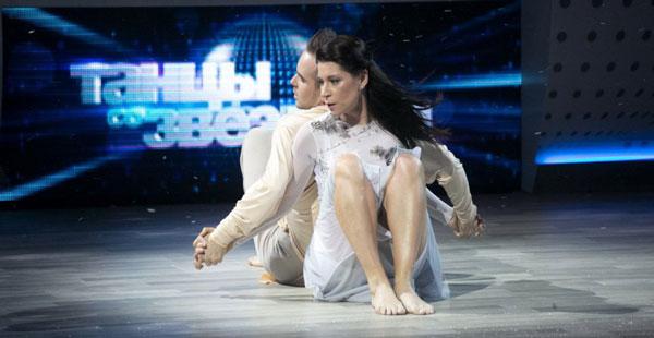 """Екатерина Волкова во время участия в программе """"Танцы со звездами"""""""