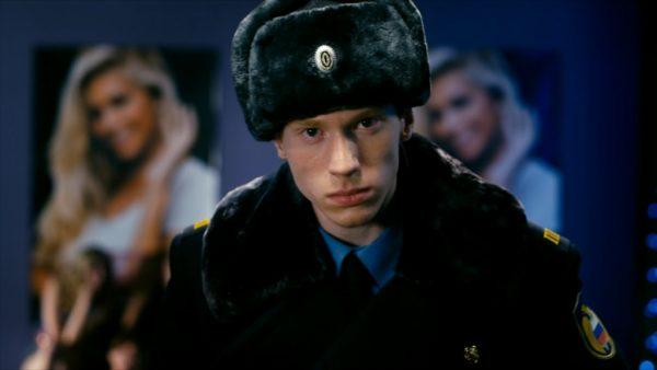 """Никита Пресняков на съемках фильма """"Елки 2"""""""