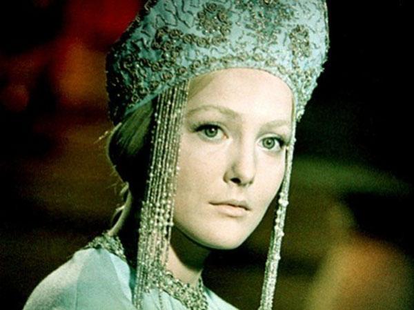Наталья Богунова в роли Снегурочки