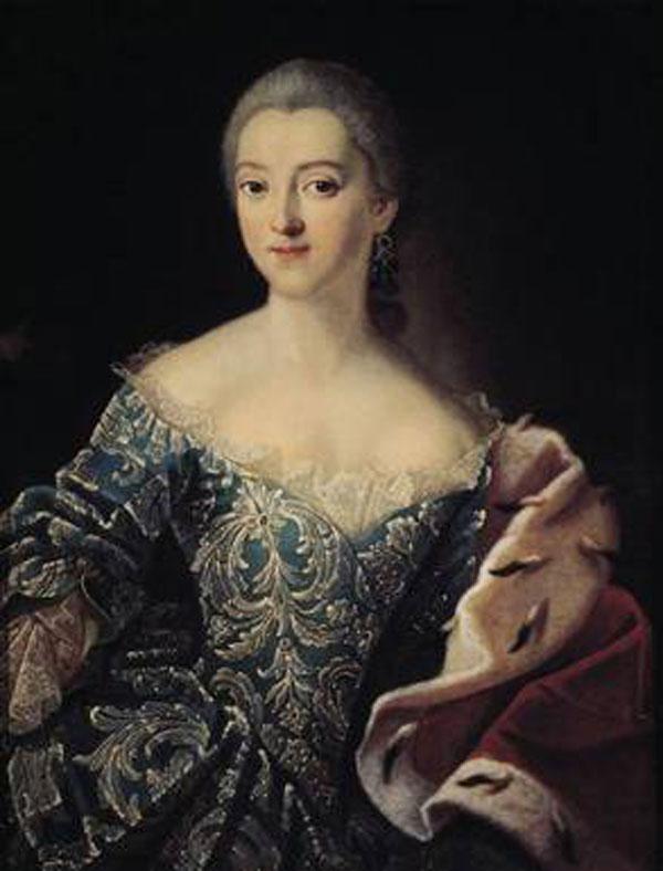 Императрица Елизавета Петровна в молодости