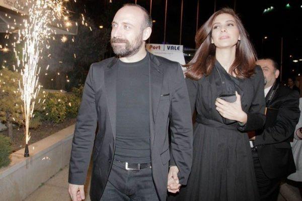 Халит Эргенч и Бергюзар Корель не подтверждают слухи о своем разводе