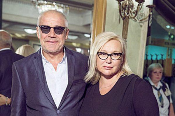 Сергей Гармаш с женой Инной