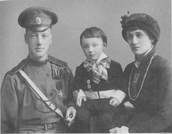 Анна Ахматова, Николай Гумилев и сын Лев