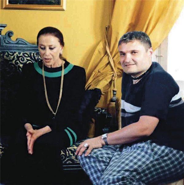 Александр Васильев и легендарная балерина Майя Плесецкая