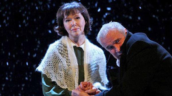 Сергей Гармаш на сцене театра