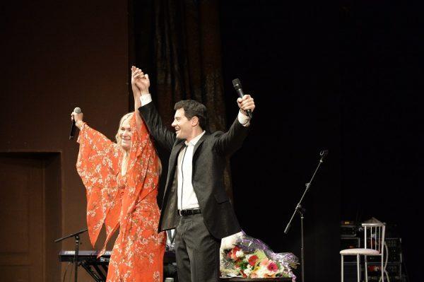 Антон Макарский на сцене