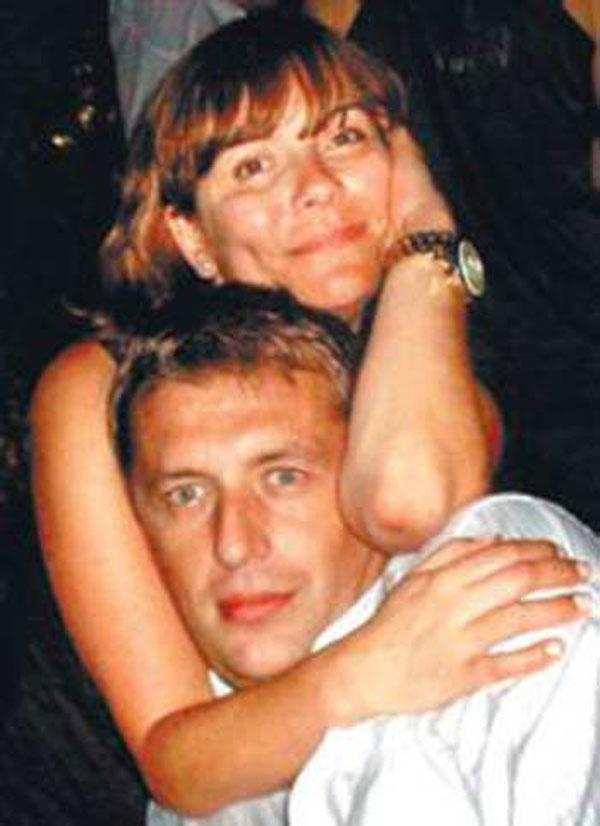 Екатерина Семёнова со вторым мужем Леонидом