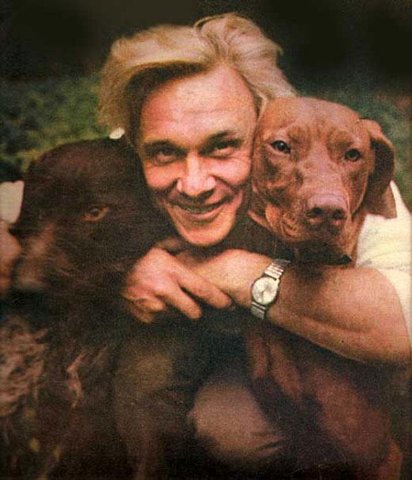 Георгий Юматов очень любил собак