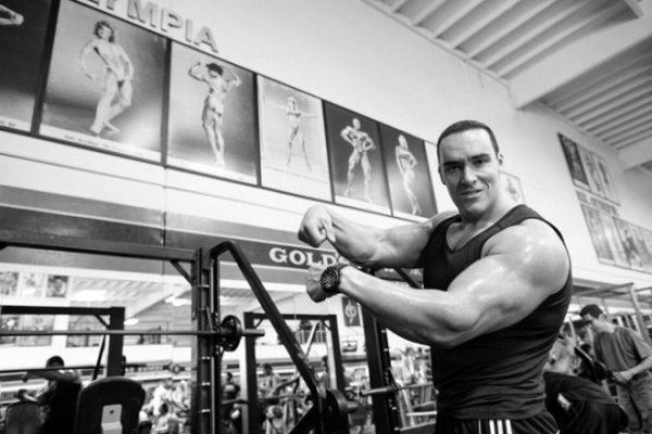 Александр Невский в спортзале