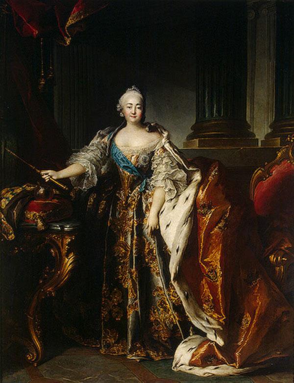 Императрица Елизавета оставила след в истории