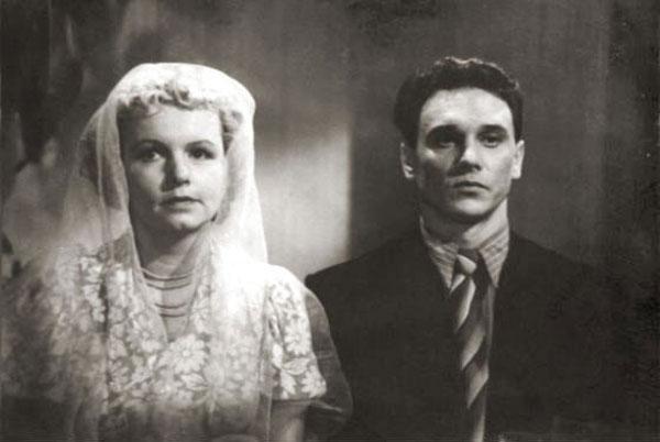 Георгий Юматов и Муза Крепкогорская
