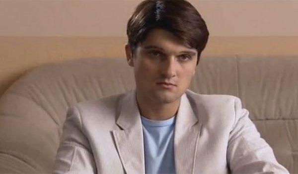 Актер В.Беридзе в молодости