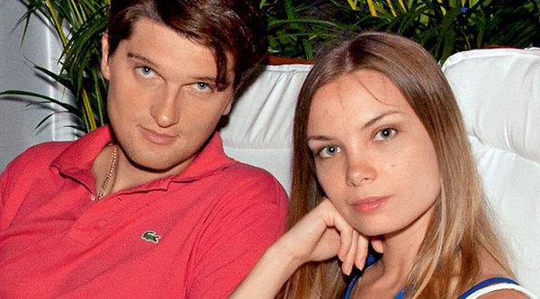 С бывшей женой Ольгой Арнтгольц