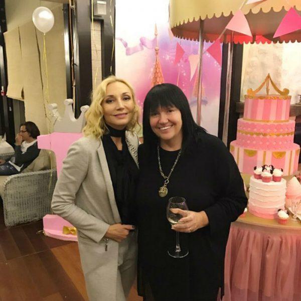 С Кристиной Орбакайте