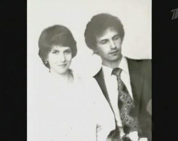 Алена с первым мужем Сергеем Свиридовым