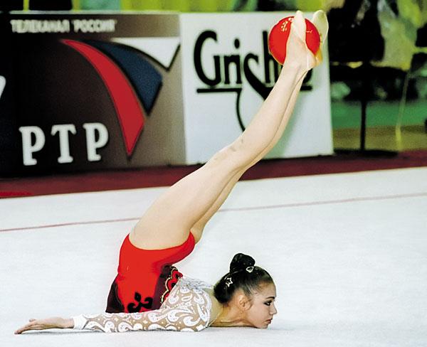 Ляйсан Утяшева известная гимнастка