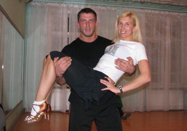 Певица с нынешним мужем Дмитреем