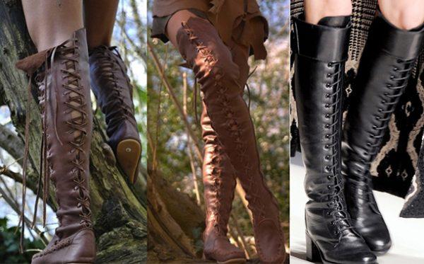 Модные сапоги осень-зима 2017-2018: фото, новинки