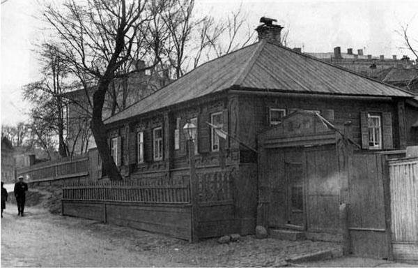 Дом Каширина, в котором проживал М. Горький