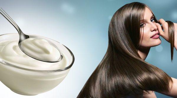 Маска для гладкости и блеска волос в домашних условиях