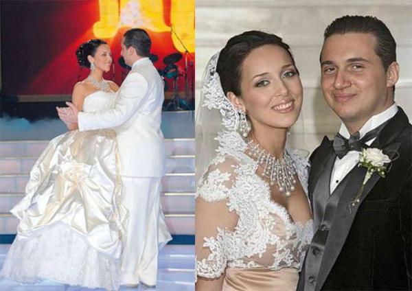 Свадебные фото Алсу и ее мужа