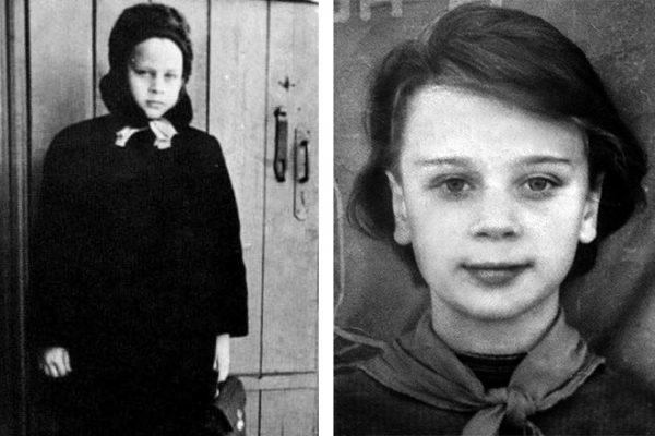 Детские фото актрисы Любови Полищук