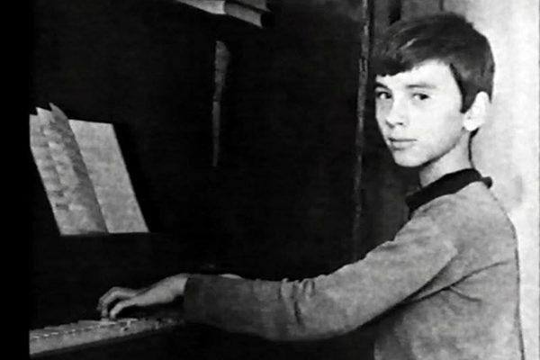 Дмитрий Хворостовский в детстве
