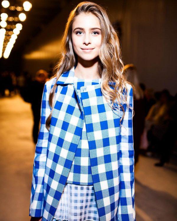 Внучка Софии Ротару на показе мод в Киеве