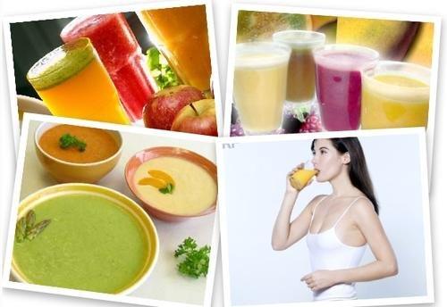Легкая питьевая диета