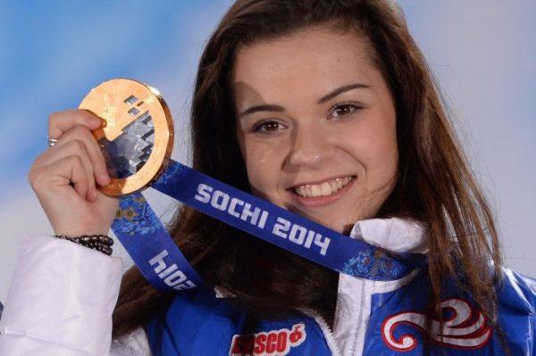А. Сотникова получила золотую медаль на Олимпиаде в Сочи