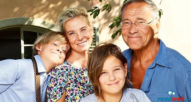 Счастливая семья до случившейся трагедии