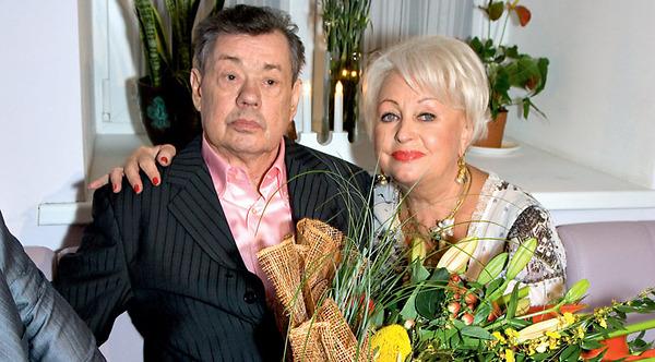 Людмилаа Поргина всегда поддерживает своего супруга