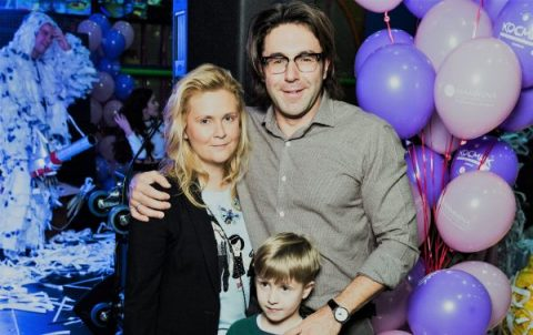 Наталья с мужем Андреем Малаховым