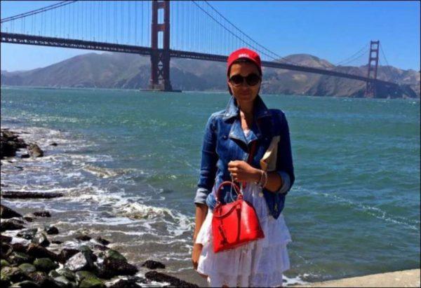 Стелла во время лечения в Калифорнии